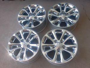 "2013 Dodge RAM 17"" Chrome Wheels No Tires"