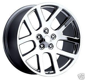 "20"" SRT 10 02 08 SRT10 Dodge RAM Chrome Wheel Rim Tire"