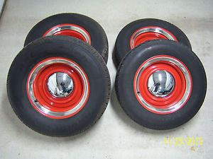 Hot Rod Wheel Tire Package Smoothies BF Goodrich 5 on 5 and 5 1 2 40 Ford Ratrod