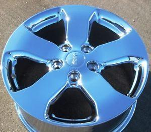 "2011 12 18"" Factory Jeep Grand Cherokee Chrome Wheels Rims Wrangler Set 4"