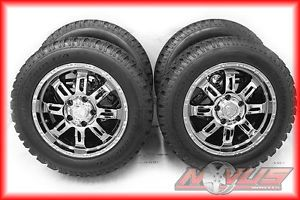 "20"" Toyota Tundra Sequoia Factory Chrome Wheels BFG All Terrain Tires 22 TRD"