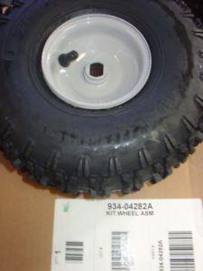 MTD Yard Machines Snowblower Steel Rim Wheel Tire Assy