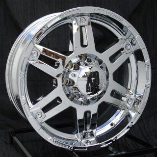 20 inch Chrome Wheels Rims Ford F250 F350 Super Duty 8 Lug Truck 8x170 XD797 Spy