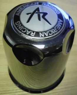 4 American Racing Steel Wheels Center Caps Stainless 1330001s