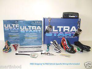 AST Ultra Start 1272 XR Pro Keyless Auto Remote Start Car Starter System