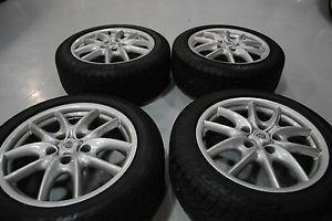 "2008 Porsche Turbo Tires and Rims 19"" Dunlop Grand Trek Tires"