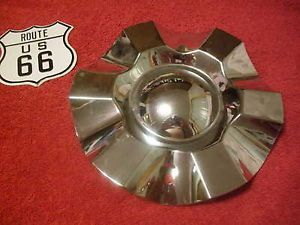 "Gio 715 Wheels 7"" Chrome 6 15 6"" Rim Custom Wheel Center Cap Hub Part BDW715B"