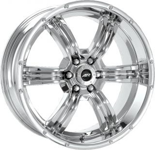"17"" American Racing Trench Wheels Rim 6x5 5 12mm"