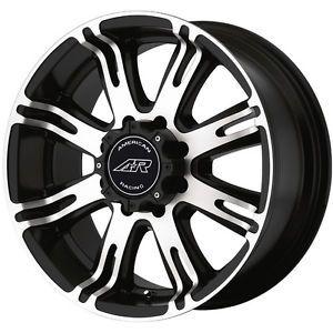 """American Racing 17"""" Wheels Black"""