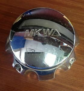 MKW Chrome Aftermarket Wheel Center Cap MKC E 002 Truck Cap 8 Lug Chevy