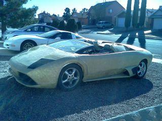 Lamborghini Replica Murcielago Kit Car LP640 Fiberglass Body Roadster G28 MURCY2