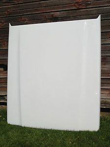 Hard Fiberglass Leer Tonneau Cover White Truck Cap