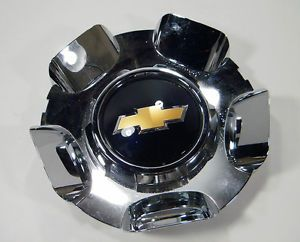 Chevy Chevrolet Truck 2010 Avalanche Wheel Lug Nut Cap Chrome