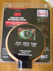 3M Headlight Lens Restoration System Kit Car Care 39008