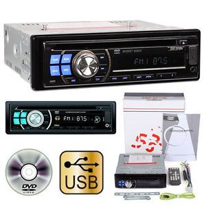 DVD CD  Car Receiver Player Stereo Radio Aux SD USB US Stock