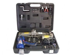 12V 12 Volt V Power Car Auto Truck Tire Changing Jack Impact Wrench Tool Kit Set