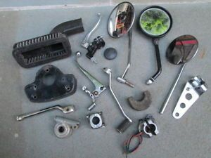 Big Lot Misc Vintage British Motorcycle Parts Triumph BSA Norton