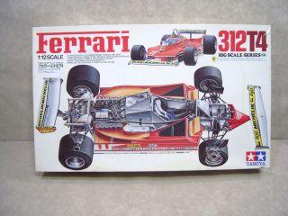 Ferrari 312T4 1 12 Scale Model Kit Tamiya Formula Race Car Incomplete for Parts
