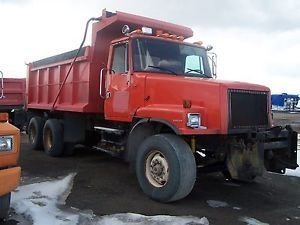 """Parts Only"" 1998 Volvo WG 6x4 Dump Truck Plow Sander Pick Up Only"