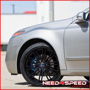 "20"" Acura TL Rohana RC20 Matte Black Concave Wheels Rims"
