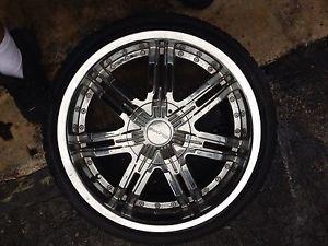 "20"" Chrome Rims Infinity Jaguar Lexus Redsport Wheel Tire Package s Type 05"