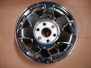 2002 2006 Cadillac Escalade Factory GM Wheel Chrome GM 9596873 14c