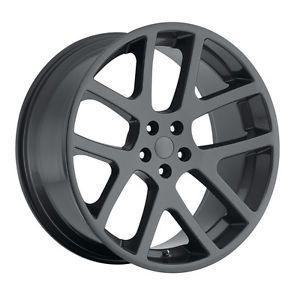 """22"""" Gray Viper SRT8 Wheels Fit Dodge Charger Magnum Chrysler 300C Challenger"""