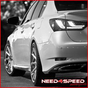 "20"" Lexus SC430 SC Rohana RC10 Concave Silver Staggered Wheels Rims"
