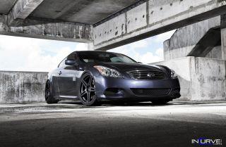 Deep Concave Rims Wheels Infiniti G35 G37 Nissan 370Z 350Z GTR Hyundai Genesis