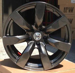 "18"" Nissan GTR Style Wheels Metallic Rims Infiniti G35 G37 G35X G37X M35 M45 FX"