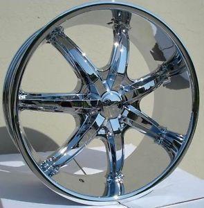 20 inch U35S Chrome Wheels Rims Nissan Altima Maxima