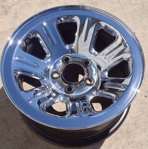 15 inch 00 11 Ford Ranger Mazda B2300 Factory Chrome Wheel Rim 3404 15x7