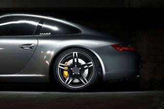 "22"" Porsche Panamera s 4S Turbo Roderick RW5 Matte Black Concave Wheels Rims"