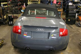 02 2002 Audi TT MK1 8N Convertible Top with Bows Hinges Black