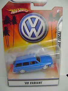 Hot Wheels Volkswagen '69 Variant 1 50 California Local New