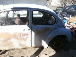 "1974 VW Volkswagen Beetle ""Whole Car Parts"" No Title"