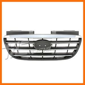 Fits 2007 2009 Hyundai Elantra GLS SE Limited Grille Grill New Front Body Parts