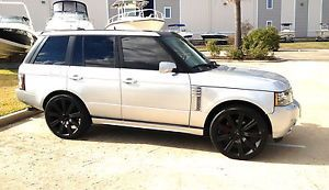 "24"" Range Rover Wheels Rims Fit 2005 2006 Land Rover 22"" Brand New Matte Black"