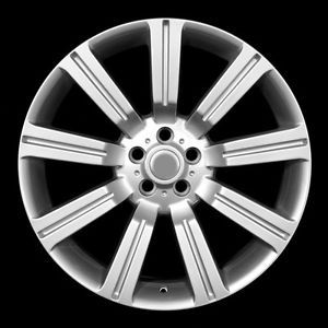 """22"""" Silver Land Rover """"Stormer"""" Wheels Rims Fit Range Rover Supercharged"""