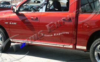 09 10 Dodge RAM Quad Cab Rocker Panel Trim