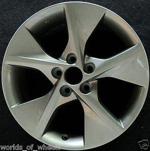 "Toyota Camry 2012 Charcoal 18"" 5 Spoke Factory Wheel Rim H 69605"