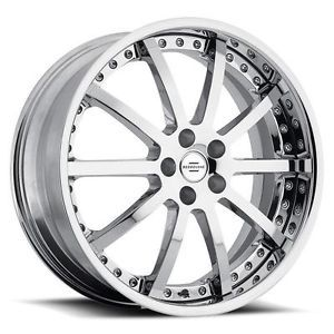 20 inch Redbourne Viceroy Chrome Wheels Rims 5x120 32 Land Rover Range Rover