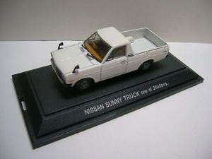 Datsun Sunny Truck 1200 B120 1 43 Ebbro A12 Nissan B122 White 1200 Ute