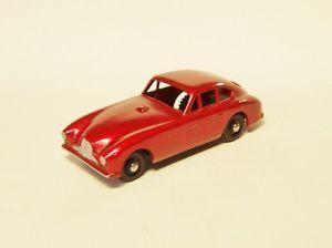 Moko Lesney Matchbox 53A Aston Martin Super RARE Metallic Red Black Wheels