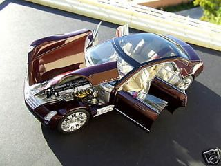 West Coast Precsion Diecast 2003 Cadillac® Sixteen™ in Burgundy 1 24 WCPD