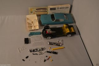 Monogram 1970 70 Buick GSX Project Parts Model Kit Pro Started