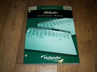 72nd Auto Truck Hollander Interchange Manual New 92 06 Foreign Domestic