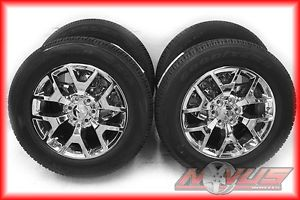 "New 2014 20"" GMC Yukon Sierra Denali Chevy Tahoe Silverado Wheels Goodyear"
