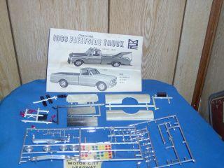 MPC 1968 Chevrolet Fleetside Truck Parts