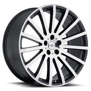 """20"""" Redbourne Dominus Wheels Rims 5x120 Land Rover Range Rover HSE Sport LR4"""